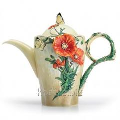 Franz teapot Spring butterflies of Van Gogh, the