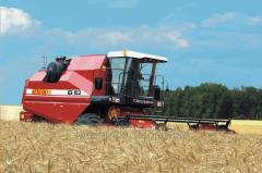 Combine harvester of Palesse GS 812