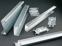Profile of galvanized G-shaped 40х40х3000 mm