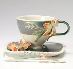 Tea couple with Franz spoon, Magnificent Kattley -