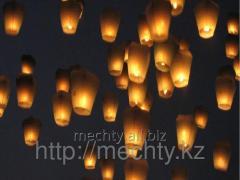 Красивые небесные фонарики