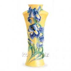 Vase Blue Irises of Franz Collection, the Limited