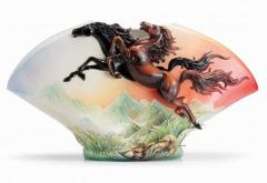 Vase of the Horse of Franz Collection