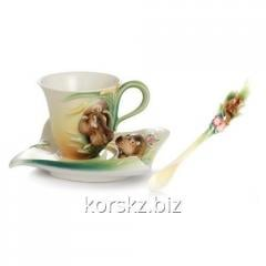 Tea couple: cup and saucer of Franz Safari Jungle