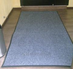 Напольный ворсовый грязесобирающий ковер на ПВХ