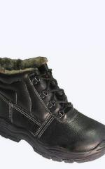 Boots House-keeper, yuftevy, PU, natural fur