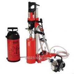 Drill for diamond drilling, fast connection of the