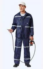 Suit Autotechnician color blue