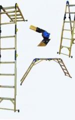 Ladder - a transformer fiberglass dielectric, a