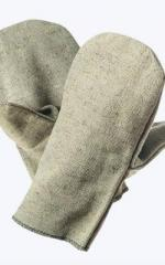 Mittens are tarpaulin, the square of 550 g/m2, OP