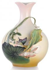Franz vase Cheerful lotus of Limited Edition