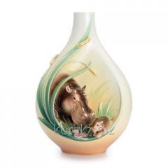 Vase of Franz, Beauty of a safari: a hippopotamus