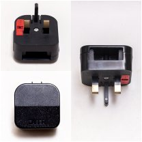 Adapter 1X socket, universal for Euro, with the