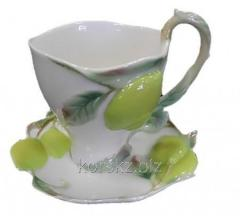 Tea couple: cup and saucer of Franz, Lemon
