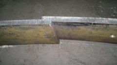 Metal sheet steel 45, round timber steel 40X