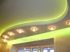 Натяжной потолок многоуровневый  24238385
