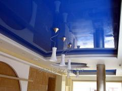 Ceilings are mirror: production and installation