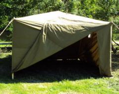 Tent for check of gas masks