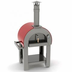 The furnace for 7 pizzas pizza
