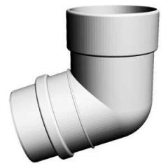 Колено 72 гр., Комплектующие для водосточных систем