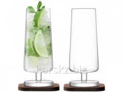 Set of two cocktail glasses of LSA