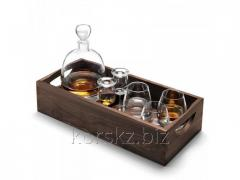 Set for experts and fans of LSA whisky, a decanter