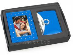 Подарочный набор: рамка для фотографии , зеркало