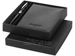 Подарочный набор: ручка шариковая, обложка для