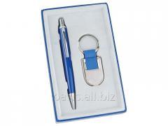 Подарочный набор: ручка, брелок  Ультрамарин