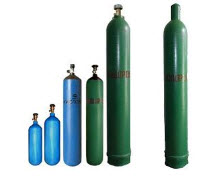 Hydrogen in cylinders