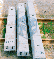 Reinforced concrete bars of railroad switches 1/11
