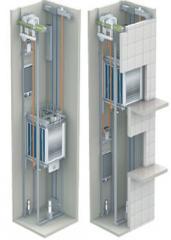 Пассажирские лифты без машинного помещения