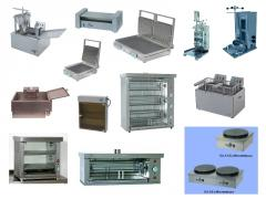 Accessories for the food equipmen