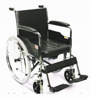 Wheelchair model 4000A with sanitary equipmen