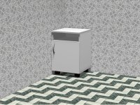Curbstone bedside mobile TB 01.004.