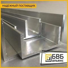 Швеллер алюминиевый АД31Т