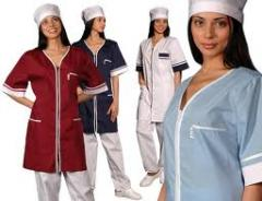 Scrubs from cotton