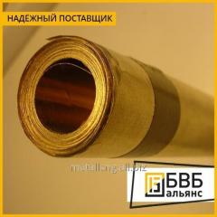 La laminilla el BrB2T de bronce