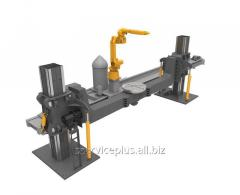 Manipulators for welding with the rob