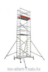 De aluminio podmost la altura de trabajo de 4,3 m