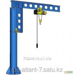 Console turning crane