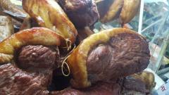 Варено-копченая продукция из конины и баранины