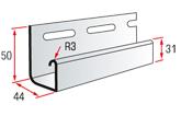 Planck Kod: J Trim for a siding