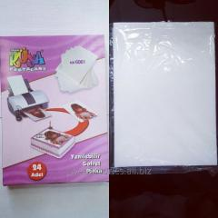 Вафельная бумага для пищевого принтера
