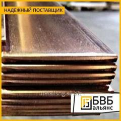 Plate brass L63 hot-smoked
