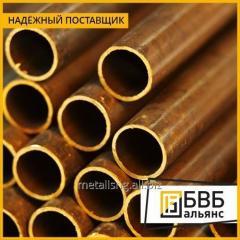 Pipe brass LZhMTs59-1-1 DKRNP