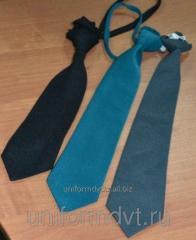 The tie is uniform