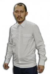 Shirt uniform white color for OS
