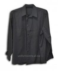 Shirt with a long sleeve man's