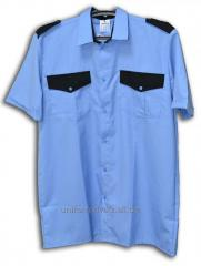 Shirt with a short sleeve man's